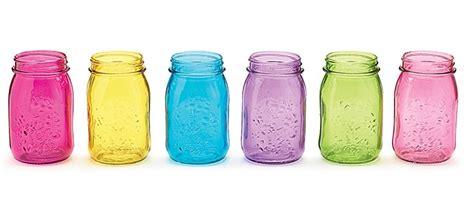 colored glass jars straws and jars jars colored glass 16oz