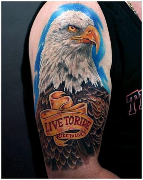 tattoo 3d eagle 35 attention grabbing eagle tattoo designs