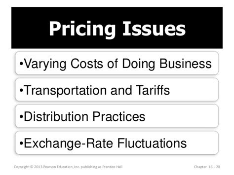 The Mba Exchange Pricing by Mba 713 Chapter 16