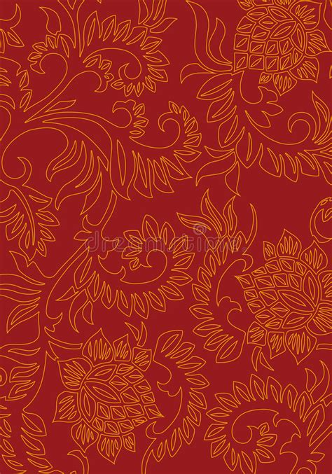 decorative background abstract floral decorative background on color vector