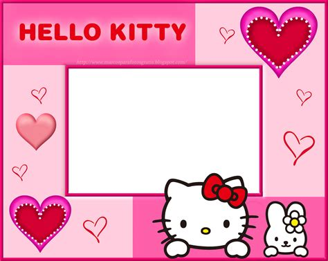 imagenes png de hello kitty marcos gratis para fotos marcos png de hello kitty
