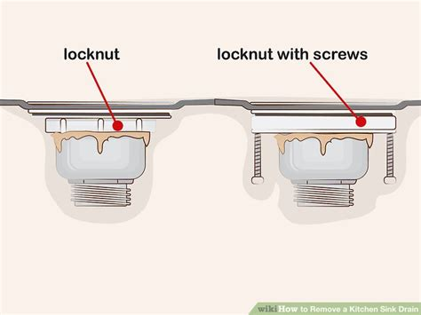 remove kitchen sink drain how to remove a kitchen sink drain 13 steps with pictures