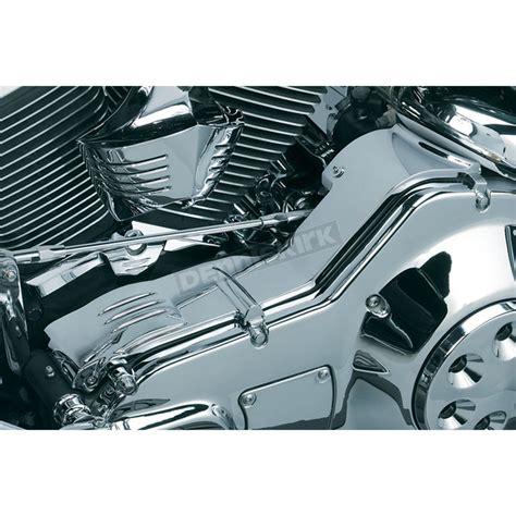 kuryakyn deluxe cast chrome inner primary cover 8294 harley davidson motorcycle dennis kirk inc