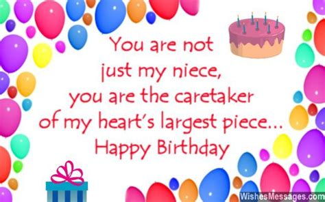 Birthday Quotes For A Special Niece Birthday Wishes For Niece Wishesmessages Com