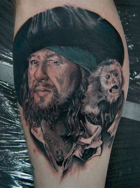 pirates of the caribbean tattoos of the caribbean tattoos