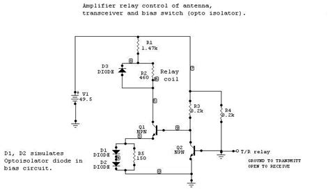 biased diode relay relay ckt