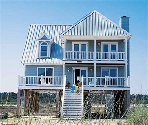 Small Beach Home Plans by Small Beach Cottage Plans And Coastal House Plans