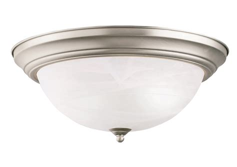 Light Fixtures Ceiling Flush Mount by Kichler 8110ni Flush Mount Ceiling Fixture