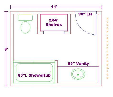5 x 9 bathroom floor plans x 9 bathroom floor plans free bathroom plan design ideas