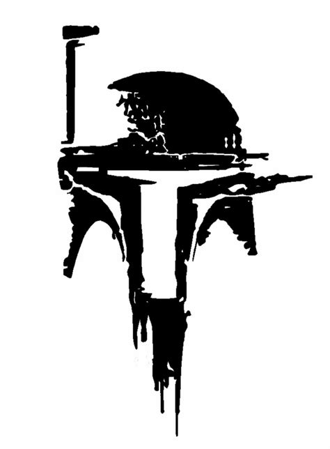 Boba Fett Sticker decal vinyl truck car sticker wars boba fett helmet