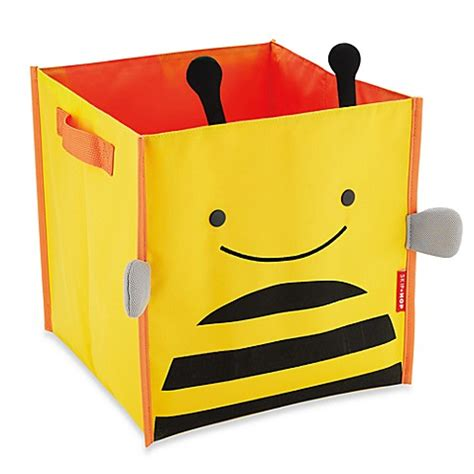 Skip Hop Zoo Storage Bin Bee buy skip hop 174 zoo storage bin in bee from bed bath beyond