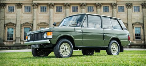 first range rover ever made the first ever range rover has been found restored now