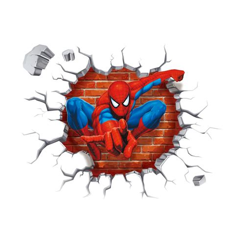 Wall Sticker Spiiderman 3 wall stickers for rooms decals home decor