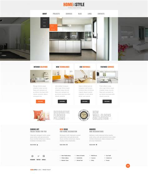 interior design site home interior design website templates house design plans