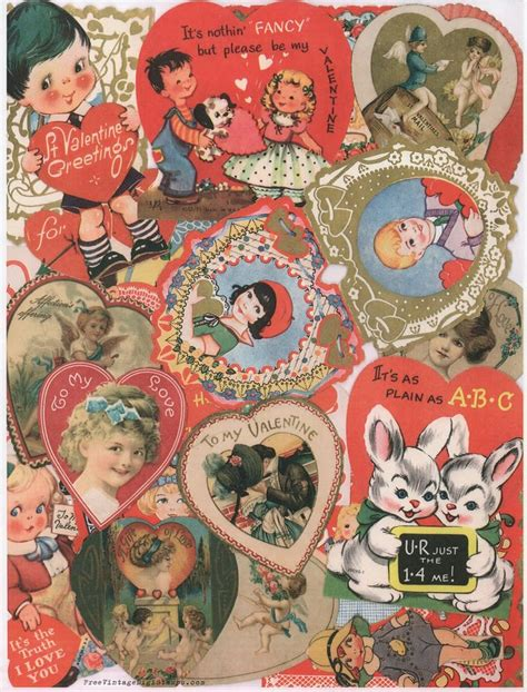 valentines day collage 216 best images about vintage valentines day on