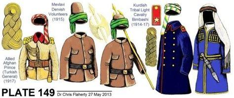 ww1 ottoman uniform ww1 turkish foreign auxiliary contingents volunteers