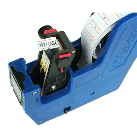 Single Row Price Labeller Machine Coding Mx 5500 Alat Label Harga 3 single row price labeller machine coding mx 5500 alat