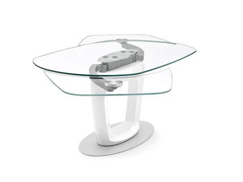 tavolo orbital calligaris calligaris orbital extending table by pininfarina