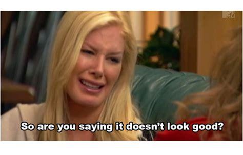 Heidi Meme - heidi montag ugly celeb cry faces
