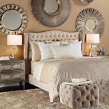 z gallerie bedroom ideas mirror living room inspiration and tufted ottoman on