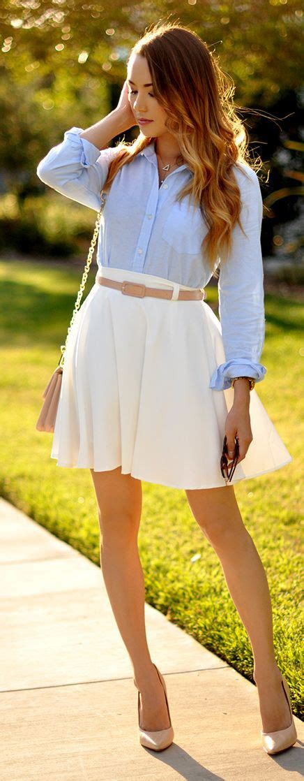lovely preppy casual summer outfits  school highpe