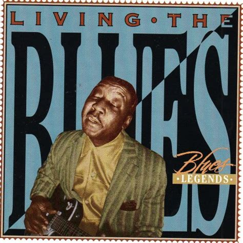 Cd Living Blues time living the blues cd covers