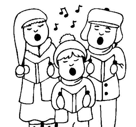imagenes navideñas para imprimir y colorear dibujo de canciones navide 241 as para colorear dibujos net