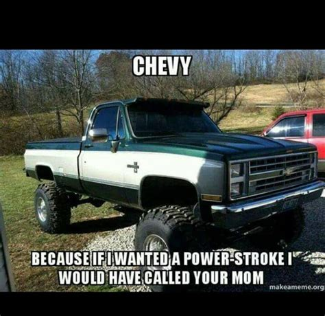 Chevrolet Memes - gearhead meme truck meme yo momma joke chevy because if