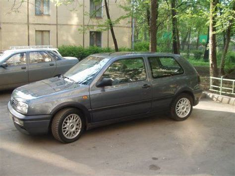1995 volkswagen golf 3 pictures 1800cc gasoline ff manual for sale