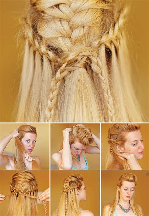 diy elven hairstyles 430 best viking celtic medieval elven braided hair