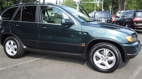 2000 Bmw X5 Green Stock 13970b Walk Around