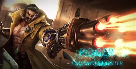 wallpaper mobile legends roger roger skill 100 damage hero baru mobile legends klik game