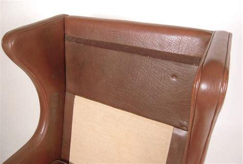 vintage danish mid century leather wingback chair at 1stdibs vintage danish mid century leather wingback chair at 1stdibs