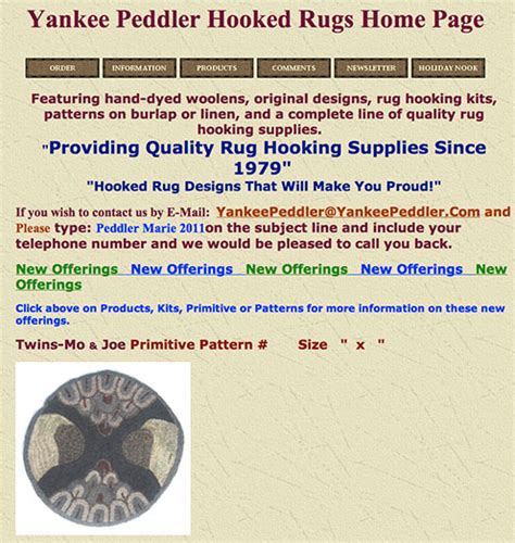 yankee peddler rug hooking dorr mill store