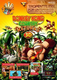 Kaset Kong Country Returns 3d 3ds pos flight lego city undercover the begins nintendo 3ds cmyked