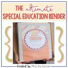 Binder Tribal Best Seller 20ring iep caseload management tribal ultimate iep special education binder from mrs d s corner on