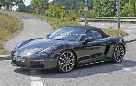 new porsche 2016 new 2016 porsche boxster tester drops remaining body camo
