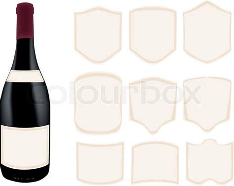 wine bottle template printable wine bottle shape template printable treats