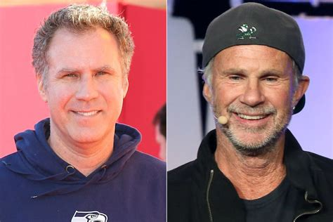 red hot chili peppers chad smith will ferrell rhcp drummer chad smith are the same person
