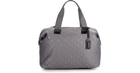 Steve Madden Quilted Bag by Steve Madden Quilted Duffle Bag In Gray Lyst