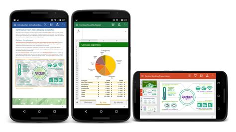 Apps For Office by Microsoft Releases Office Apps For Android Smartphones