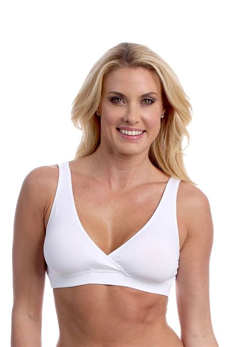 most comfortable pregnancy bra majamas easy bra in white