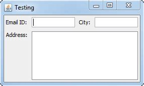 layout manager java api swing how to make my textfield bigger for gui in java