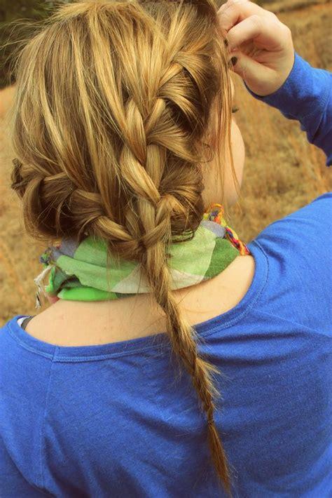 braid styles for thin hair french braid thin hair looking good hair beauty