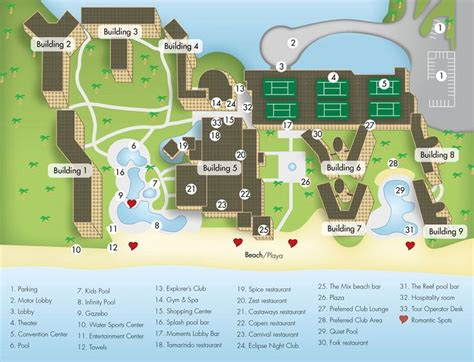 Jade Layout Include | now jade resort map map layout now jade riviera cancun