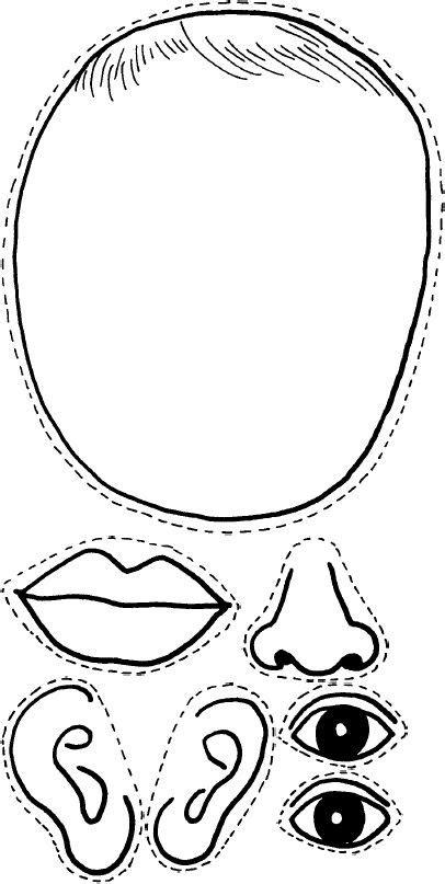 partes de la cara dibujo para colorear nombre de las partes del cuerpo y ponerlos donde