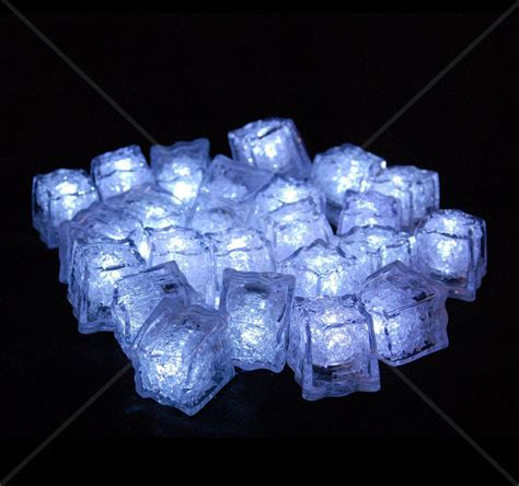 led ice drop lights liquid activated led cubes on the market literally just