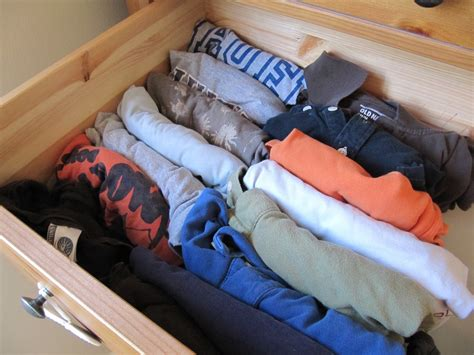 How To Fold T Shirts For Drawers by Everyday Organizing Keeping Your T Shirts Organized With File Folding
