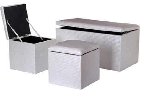 canapé pouf modulable banquette design cuir
