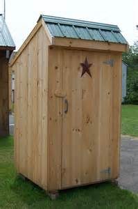 4 x 4 salt box outhouse brimfield shed handcrafted
